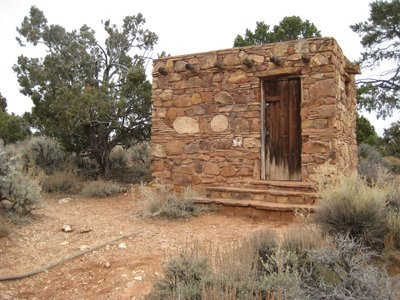 Small Shed at Desert View