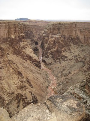 The Little Colorado River, Little Colorado River Gorge