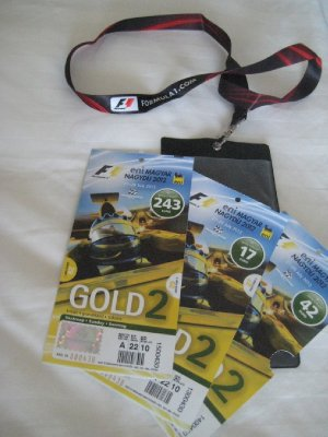 Hungary 2012 F1 Grand Prix Tickets