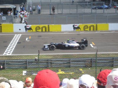 A Williams over the line