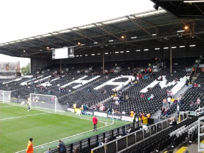 Craven Cottage is home to Fulham FC - Fulham FC vs Stoke City