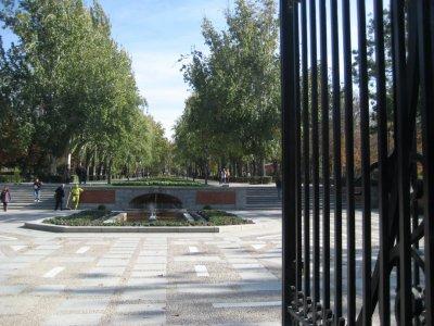 Alcala Gates in Parque de El Retiro