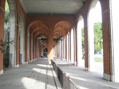 Arches at Nuevos Minsterios