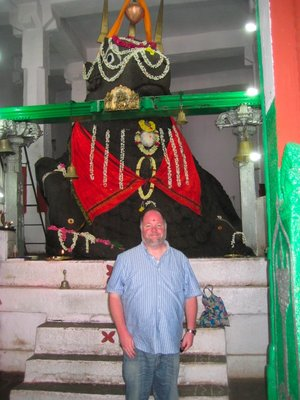 Me at the Bull Temple, Bangalore