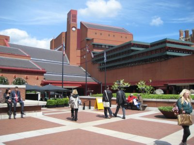 British Library Plaza