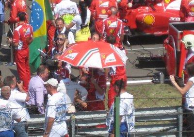 Brundle interviewing Massa