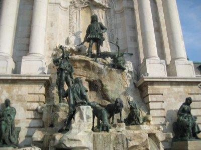 Buda Castle Hunting Fountain