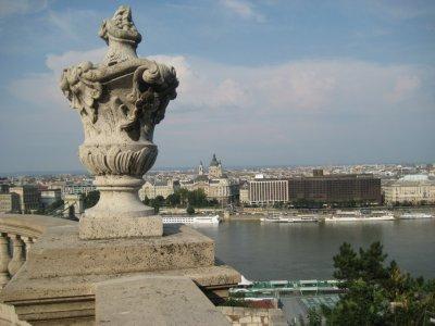 Buda Castle terrace