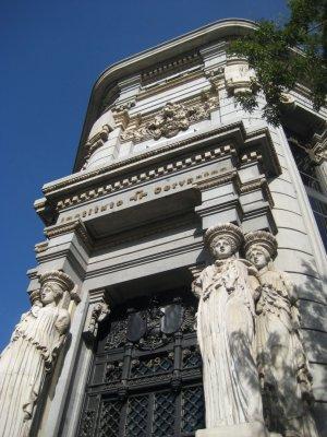 Building near Banco de Espana