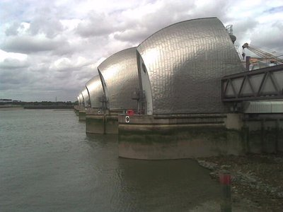 Thames Barrier Art Deco