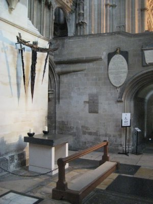 The Martyrdom, Where Thomas Beckett was murdered.  Canterbury Cathedral