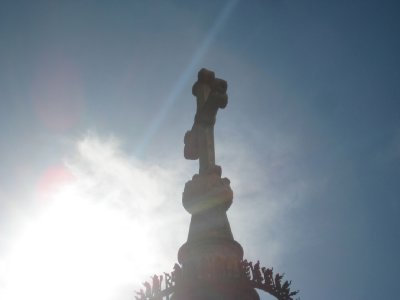 Cross in Sun