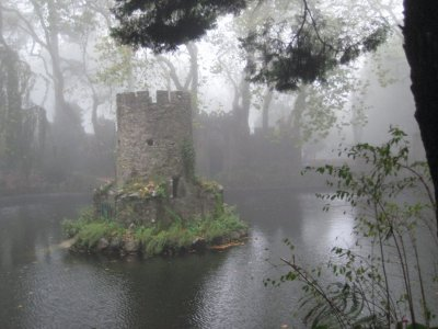 one of the lakes and duck house near the Valley of the Lake Entrance