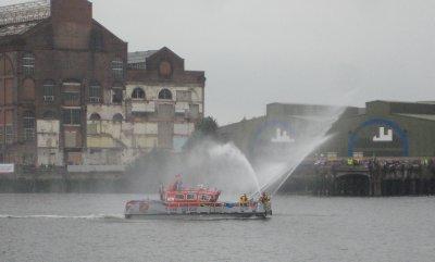 Fire Boat in the Flotilla