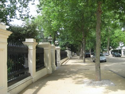 Kensington Palace Gardens, the richest street in the UK and home to fourth richest man in the world, Lakshmi Mittal