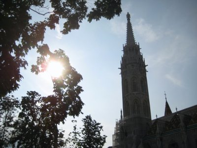 Matthias Church and Sun