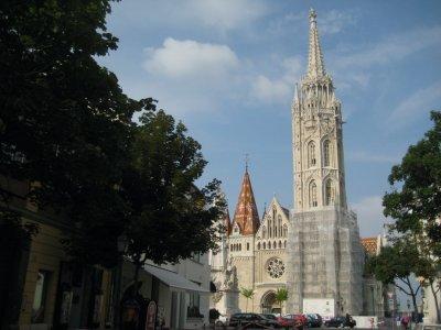 Matthias Church in old Buda