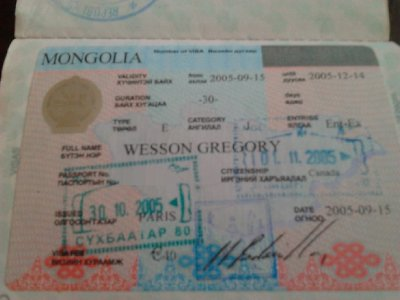 how to get mongolian visa