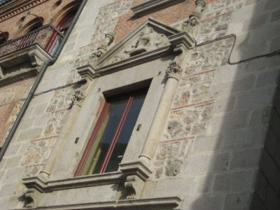 Ornate Window at Police Station