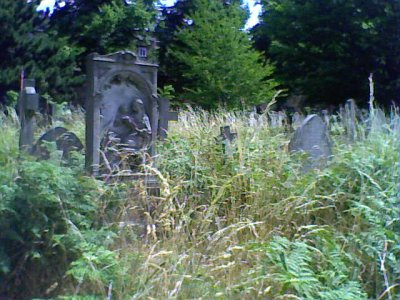Overgrown Brompton Cemetery 1
