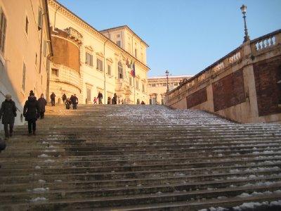Quirinale steps