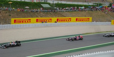 Race Day at the Spanish Grand Prix 2014, Circuit de Barcelona-Catalunya, Spain