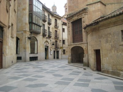 Roadway around Iglesia de San Benito