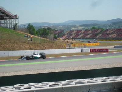 Mercedes at the Spanish Grand Prix 2014, Circuit de Barcelona-Catalunya, Spain