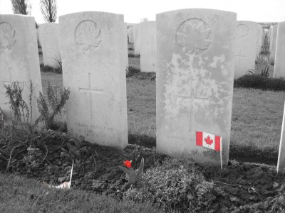 Canadian Unknown Solider, Tyne Cot Cemetery