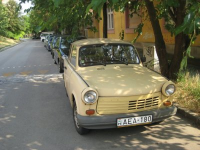 Trebant, (in)famous East German cars