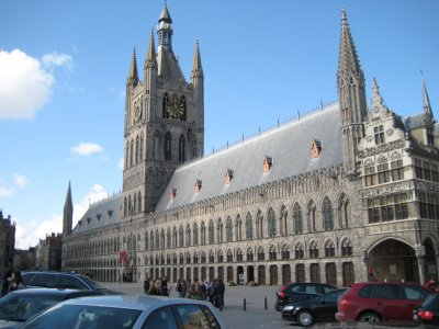 Cloth Hall as seen from the main square