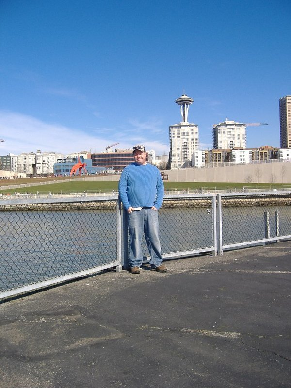 Greg on the Seattle Waterfront