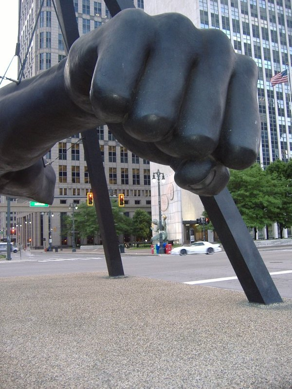 Joe Louis' Fist, Detroit, MI