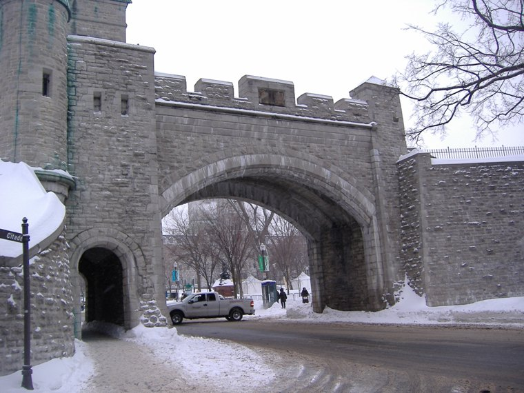 Saint Louis Gate, Quebec City