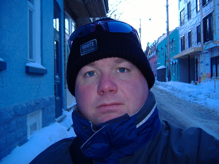 It's way cold in Quebec City!