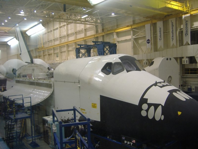 Training Shuttle Exterior at NASA