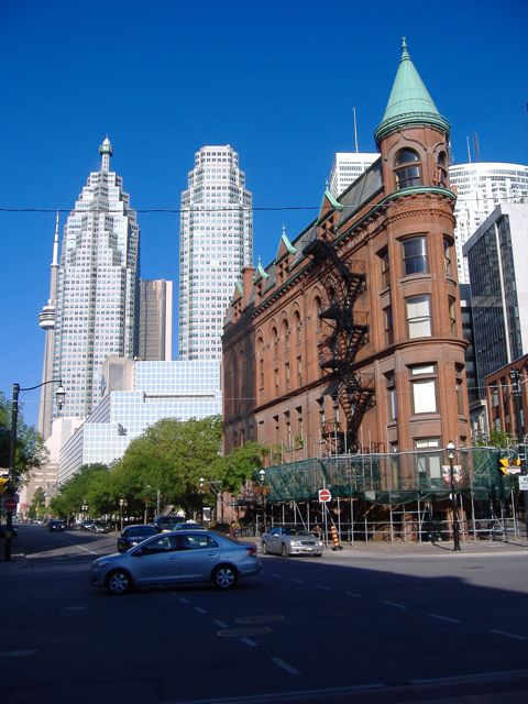 Flatiron Building, Church and Front, Toronto