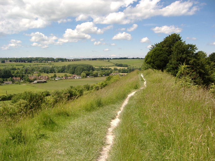 Path to Old Sarum