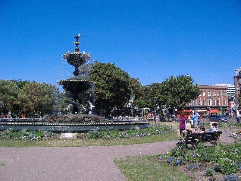 Fountain at Old Steine, Brighton