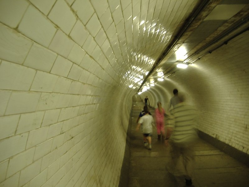 Greenwich Foot Tunnel Through the Tunnel
