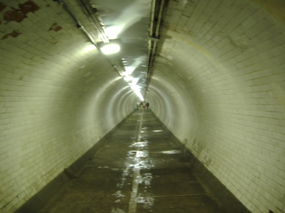 Greenwich Foot Tunnel Long View