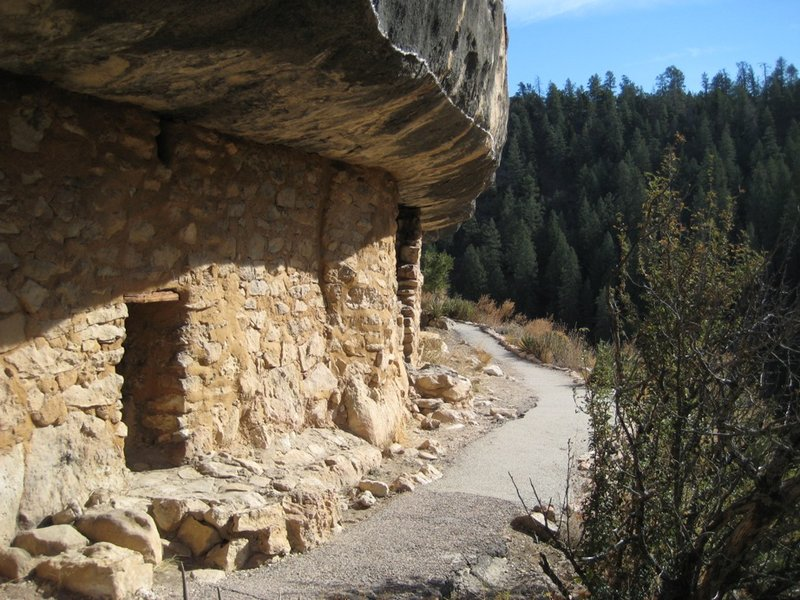 Walnut Canyon -  Cliff Dwellings