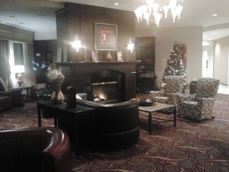 Lobby  at Courtyard Hamilton, Courtyard Marriott