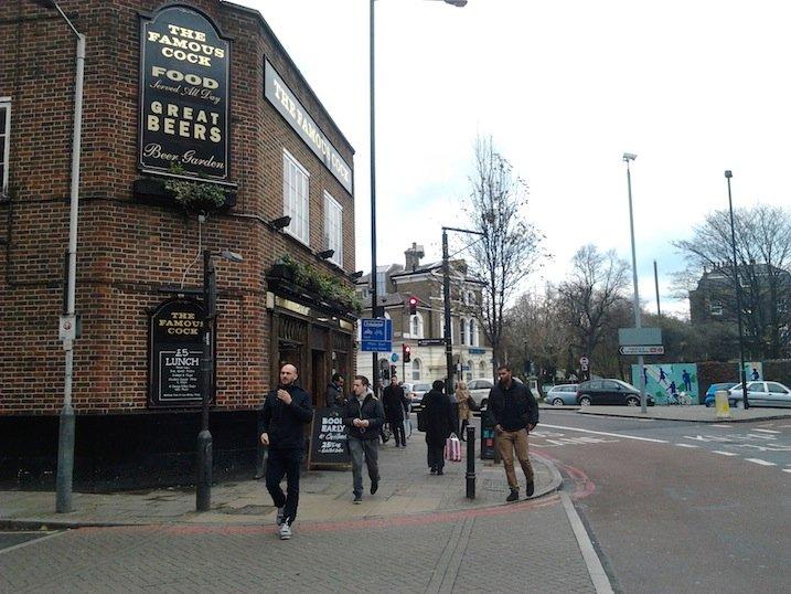 The Famous Cock, Highbury