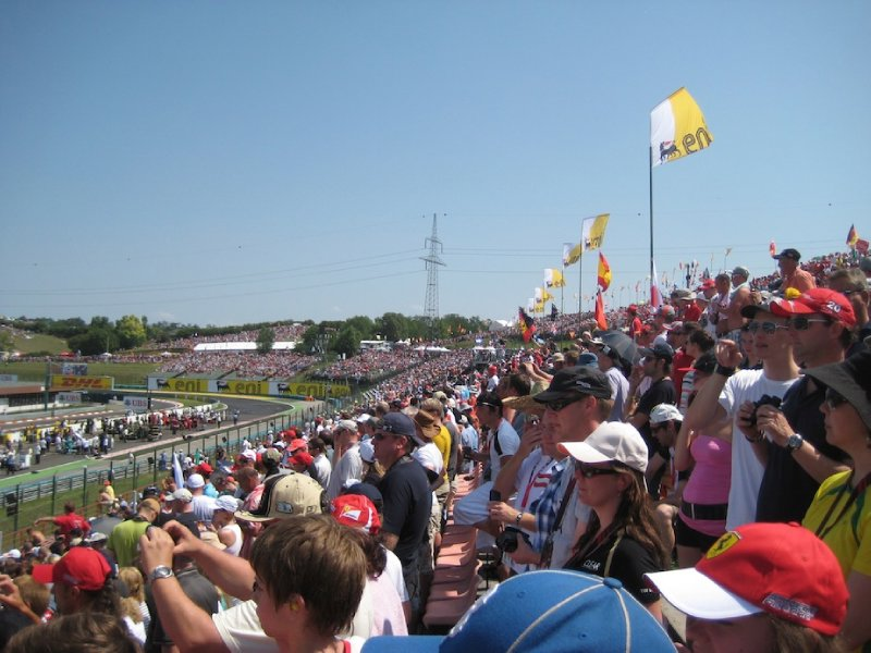 Hungaroring Crowds