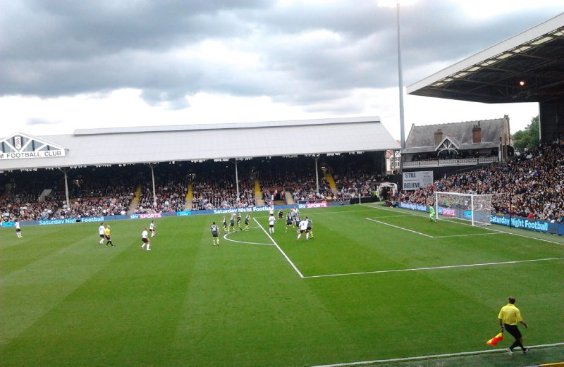 Fulham FC vs Stoke City at Craven Cottage