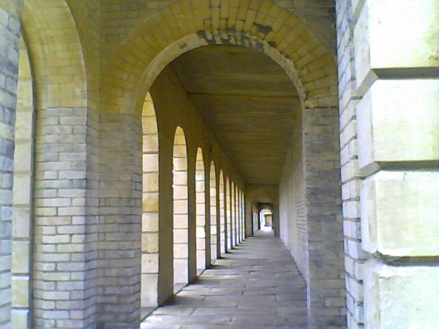 Arches and walkway Brompton Cemetery
