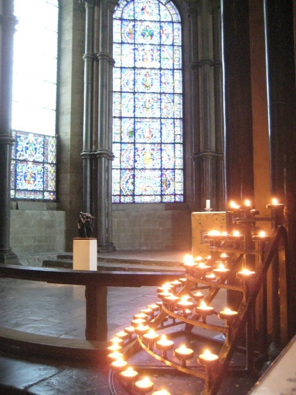 Candles, Canterbury Cathedral