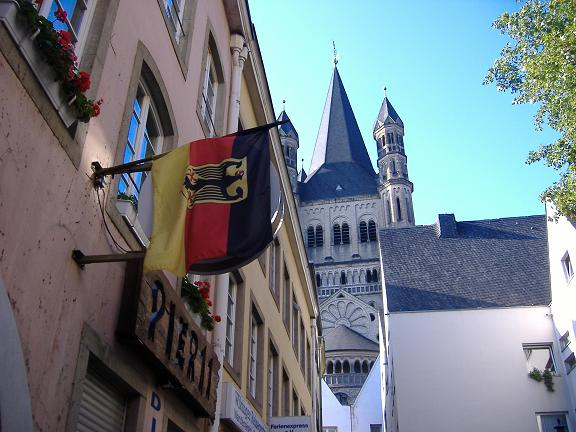 German Flag, Cologne, Germany