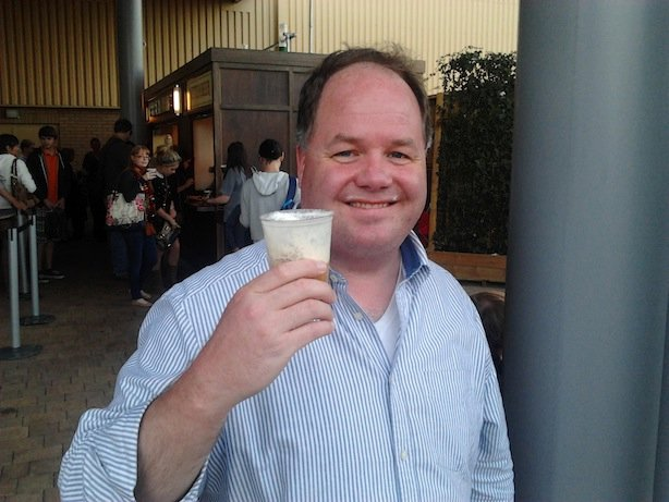 Greg With Butterbeer
